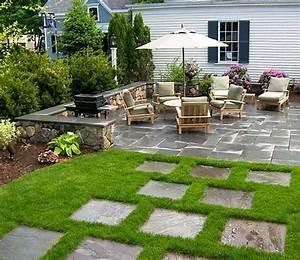Déco De Jardin : idee amenagement terrasse jardin decoration jardins et ~ Melissatoandfro.com Idées de Décoration