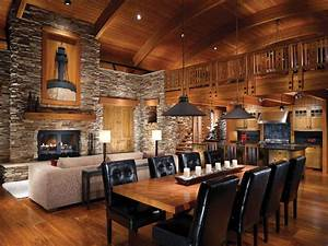 log cabin interior design 47 cabin decor ideas With kitchen cabinet trends 2018 combined with home sweet home metal wall art