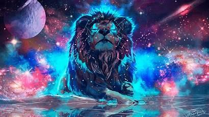 Lion 4k Colorful Artistic Wallpapers 1080p Laptop