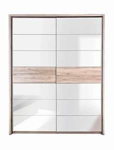 Schwebetürenschrank Weiß Hochglanz : schwebet renschrank rubio 8 sandeiche wei hochglanz 170x210x61 cm wohnbereiche schlafzimmer ~ Orissabook.com Haus und Dekorationen
