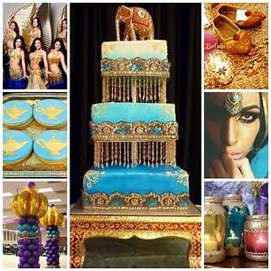 Arabian Nights / Moroccan Sweet Fifteen Theme | Quince Candles