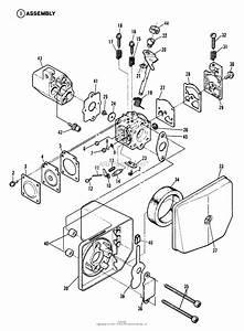Snapper 2100hhb Blower Parts Diagram For Carburetor  U0026 Air