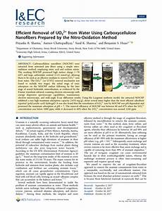 (PDF) Efficient Removal of UO22+ from Water Using ...