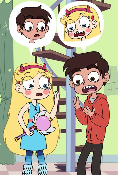 star butterfly and marco diaz in a body swap by deaf