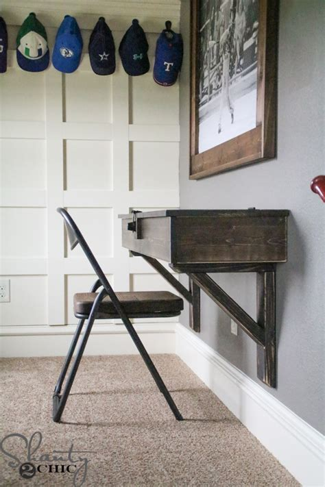 how to make a floating desk these 18 diy wall mounted desks are the perfect space
