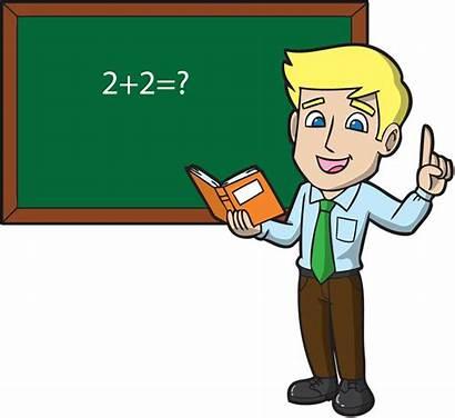Teacher Male Clip Math Clipart Pinclipart Young