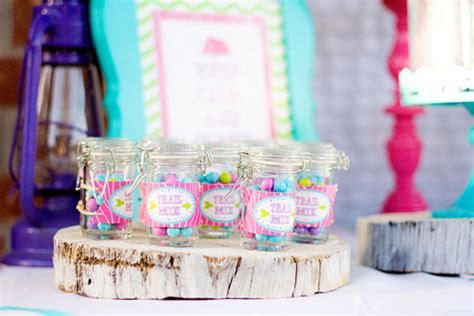 party feature fabulous glamping camp themed birthday