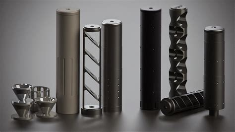 suppressor baffle design the and fiction about silencers and suppressors
