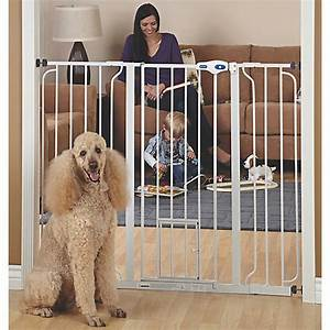 top pawr extra tall pet gate dog dog doors gates With top paw dog house door