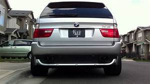 Bmw X5 E53 4 8is Dinan S2 Exhaust
