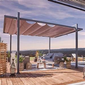 Tonnelle Terrasse : installer et choisir une tonnelle de jardin marie claire ~ Melissatoandfro.com Idées de Décoration