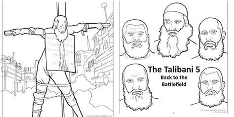 graphic anti terrorism coloring books introduce kids