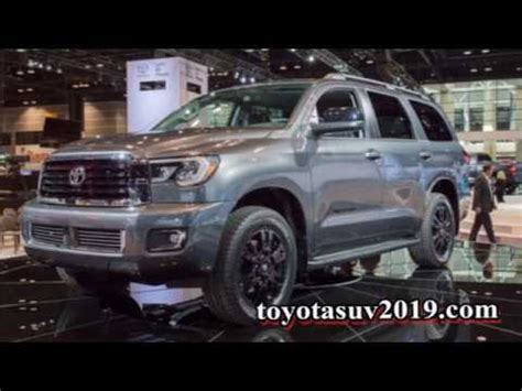 coming   toyota sequoia redesign  trd pro youtube