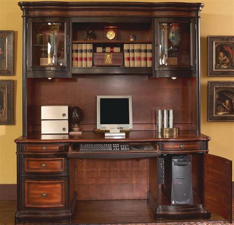 credenza desk and hutch large executive home office computer credenza and hutch in