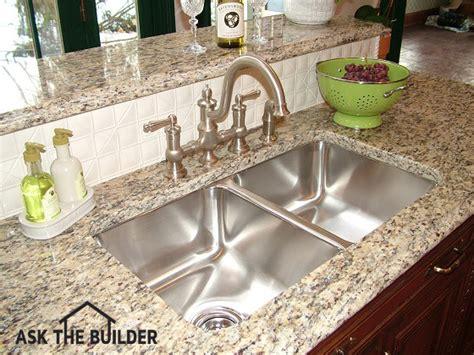 undermount sink epoxy granite undermount kitchen sink needs epoxy and anchors great