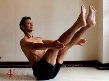 Boat Pose Asana by Seated Poses