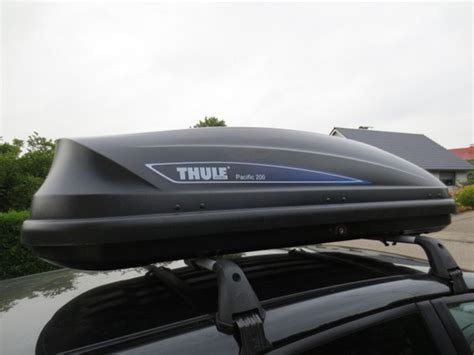 thule pacific 200 pin thule pacific 200 capacit 224 460 litri dimensioni