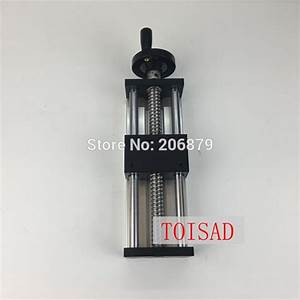 100mm Effective Stroke Travel Length 16mm Linear Guide