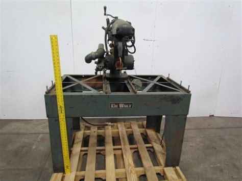 Dewalt Model Gpn2 Radial Arm Saw 3hp 200-220/440v 3ph W