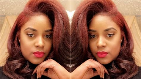 Coloring Relaxed Hair by I Dyed My Relaxed Hair