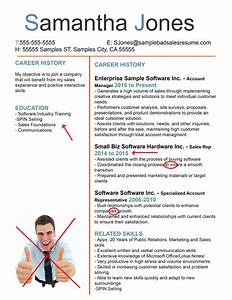 The Anatomy Of A Terrible Sales Resume