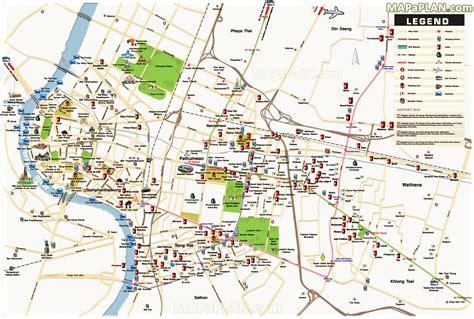 bangkok map detailed  birds eye aerial view  street