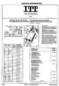 Itt Ideal Color 3106 Oscar Service Manual Download  Schematics  Eeprom  Repair Info For