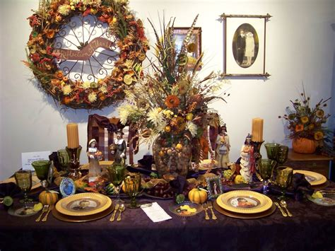 Silver Trappings Holiday Tables Thanksgiving And A