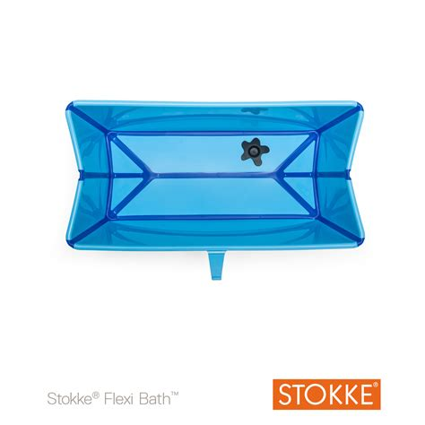 baignoire flexi bath bleu de stokke 174 baignoires aubert
