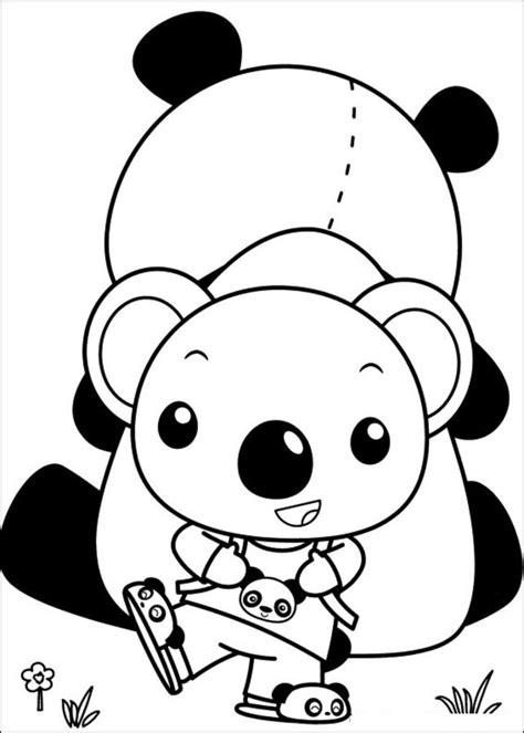 coloring pages ni hao kai lan printable  kids adults