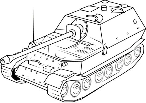 Panzer 3 Tank Coloring Pages Coloring Pages