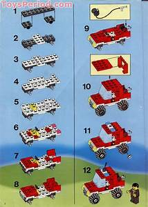 Lego 6389 Fire Control Center Set Parts Inventory And