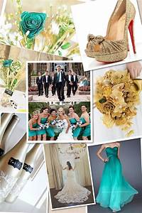 Teal and gold wedding theme the perfect wedding for Teal wedding theme ideas