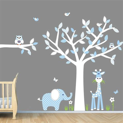 Wandtattoo Kinderzimmer Baby Junge by Baby Boy Room Jungle Wall Decals Boy Room