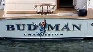 budman charleston boat transom boats transom artwork With custom boat lettering online