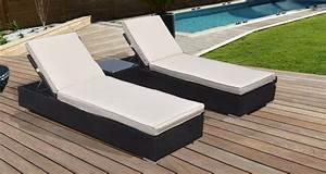 Bain De Soleil Résine Tressée : ensemble bains de soleil en r sine tress e lombok ~ Dailycaller-alerts.com Idées de Décoration