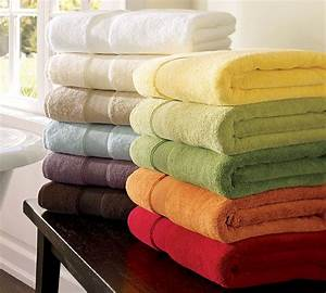 Dreamy spaces tuesday tips 9 splurge worthy luxuries for for Best pottery barn towels