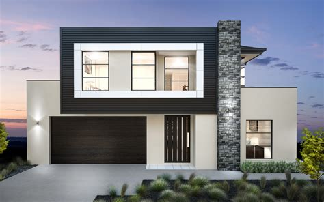 home builders bronte  mk double storey home designs