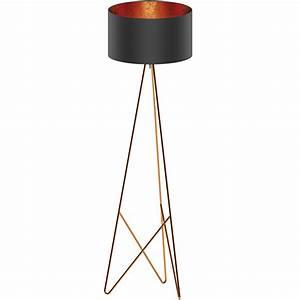 Eg39229 stl 1 kupfer schwarz kupfer 39camporale39 national for Floor lamp dublin