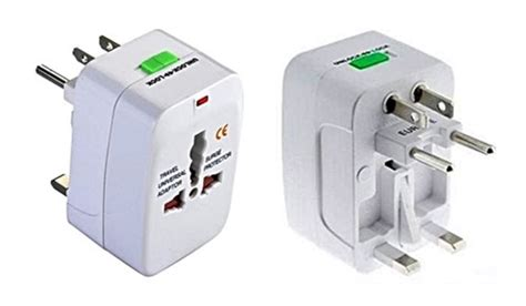 universal travel adapter surge protector