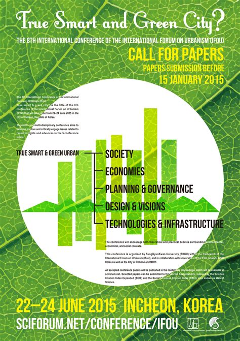 Smart And Green by 8th Conference Of The International Forum On Urbanism Ifou