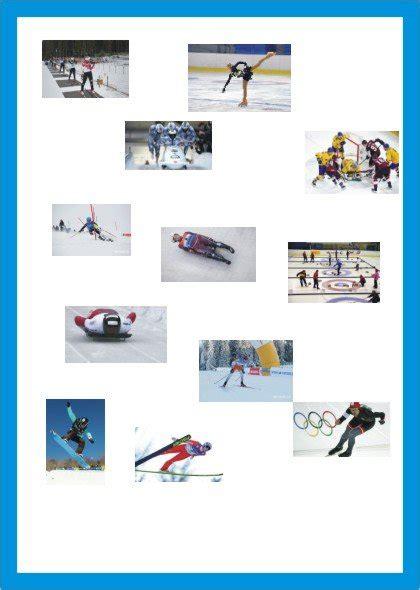 Ziemas sporta veidi - Mācību materiāli