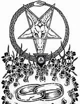 Satanic Coloring Satan Drawing Church Demon Hell Baphomet Demons Flash Marriage Getdrawings Tattoo Feed Third Side sketch template