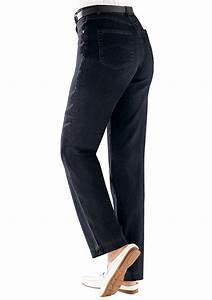 Herren jeans mit seitlichem dehnbund