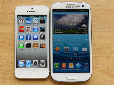 what s better iphone or galaxy iphone 5 vs galaxy s 3 pocketnow
