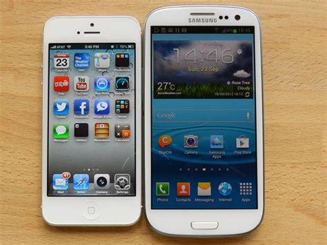 galaxy vs iphone iphone 5 vs galaxy s 3 pocketnow