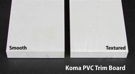 koma pvc trim board capitol city lumber