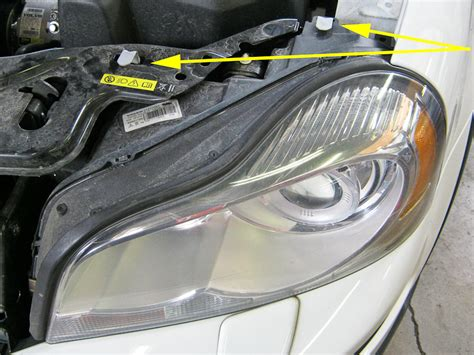 bumper removal headlight removal  hid kit
