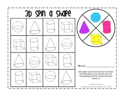 3d shape activities for preschoolers shape for kindergarten and 3d shapes on 410
