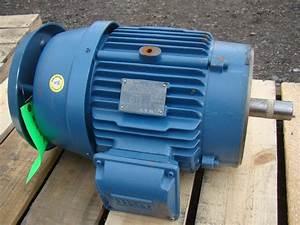 Weg 3 Phase Electric Motor Inverter Duty 5 Hp 2940 Rpm Model R00736ep3er213tc